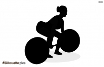 Woman Playing Volleyball Silhouette