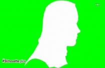 Girl Cartoon Silhouette Image