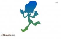 Jetsons Cartoon Silhouette Image