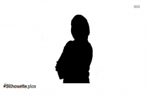 Lady Manager Silhouette Image