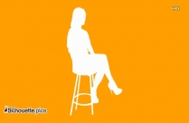 Man Sitting Silhouette Free Vector Art