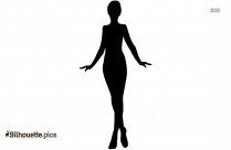Woman Vector Clipart Silhouette