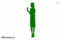 Woman Silhouette Art