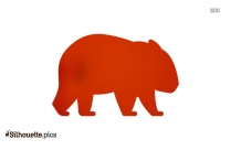 African Bush Elephant Clipart Image Silhouette