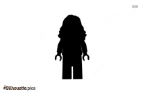 Wonder Woman Arrived Silhouette