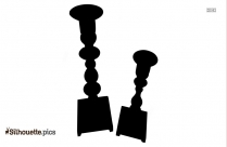 Candle Holder Silhouette Png