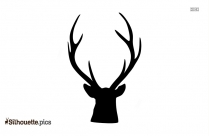 Christmas Deer Silhouette For Download