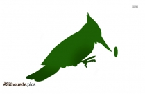 Black And White Wren Clipart Silhouette