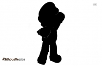 Mario Turtle Shell Silhouette