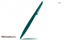 Light Pen Silhouette Clip Art