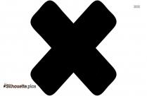 Christian Cross Symbols Silhouette Icon