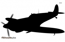 Wwii Airplanes Silhouette