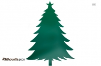 Christmas Tree Decorations Silhouette Art