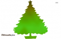 Christmas Tree Silhouette Vector Art And Graphics