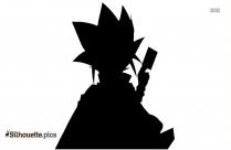 Yami Yugi Character Silhouette