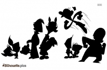 Yeah Cartoon Silhouette Art