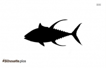 Striped Bass Silhouette Vector And Graphics