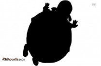 Barney Character Silhouette