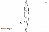 Yoga Cartoon Drawing Clipart Silhouette