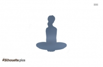 Fire Log Pose Yoga Silhouette Picture