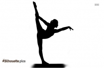 Yoga Illustration Silhouette Clipart Image