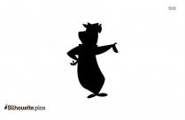 Yogi Bear Silhouette