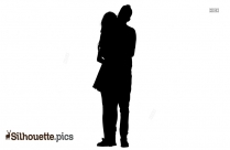 Young Couple Romance Silhouette