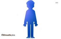 Young Father Clipart Silhouette Image