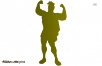 Young Hercules Silhouette Image And Vector