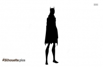 Young Justice Batgirl Silhouette