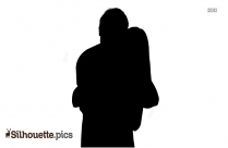 Young Loving Couple Silhouette
