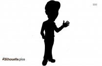 Cartoon Wondering Silhouette Picture