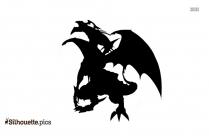 Yu Gi Oh Dragon Silhouette Image