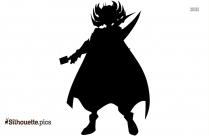 Yu Gi Oh Zexal Silhouette Vector