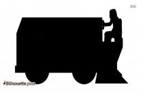 Free Four Wheeler Silhouette, Vintage Car Clipart