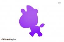 Baby Kitten Silhouette Free Vector Art