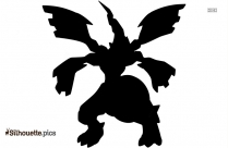 Zekrom Pokemon Silhouette Picture
