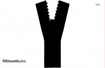 Zipper Clip Art Silhouette Free