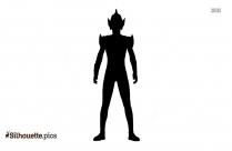 Zoffy Ultraman Silhouette Drawing