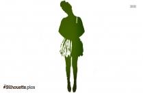 Zombie Ballerina Costume Silhouette Picture