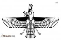 Zoroastrianism Silhouette Image