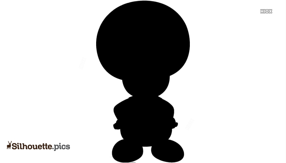 Toad Character Giant Bomb Silhouette