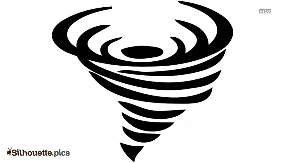 Tornado Graphics Silhouette Clip Art