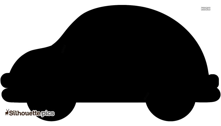 Toy Car Clip Art Black Silhouette