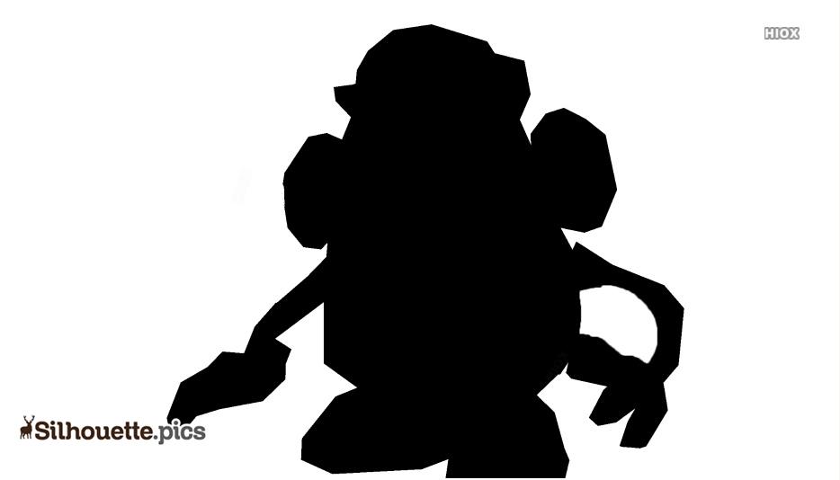 Toy Story Potato Clip Art Silhouette