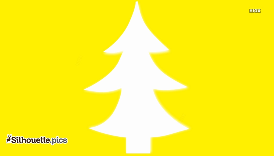 Christmas Tree Silhouette Images
