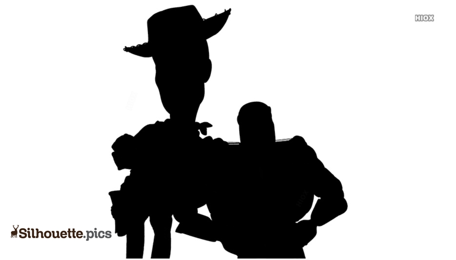 Toys Story Characters Silhouette