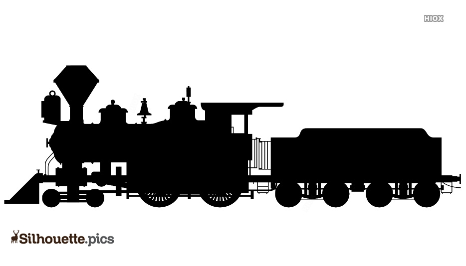 Train Engine Logo Silhouette For Download Silhouette Pics