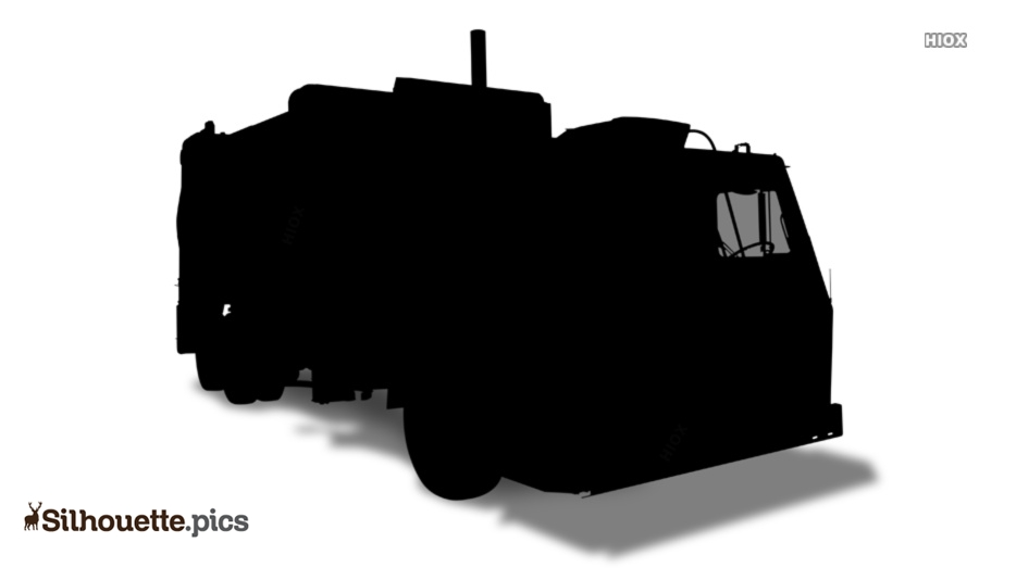 Garbage Truck Silhouette Images