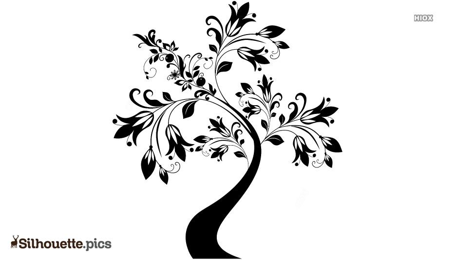 Tree Art Drawing Silhouette Clip Art